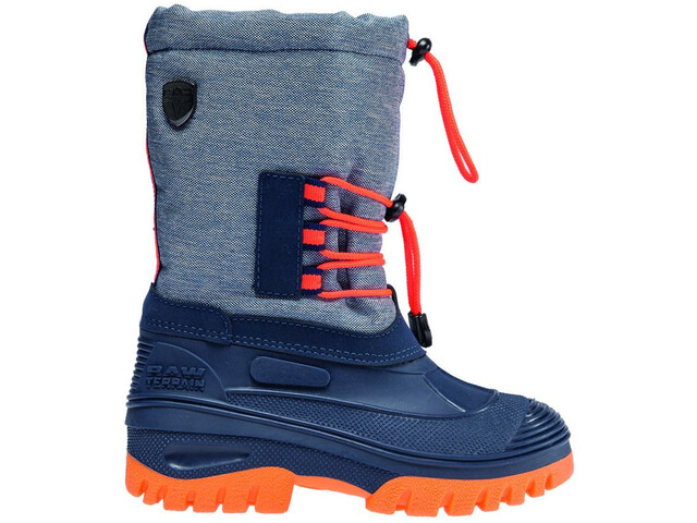 CMP Campagnolo Ahto WP Boots de neige Enfant, denim melange